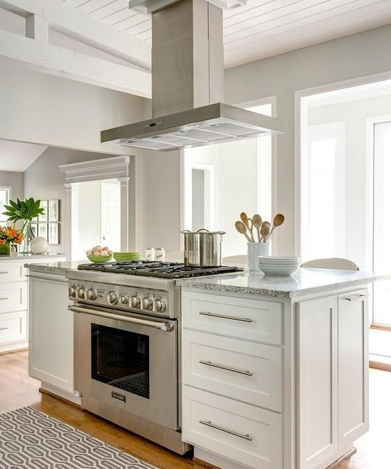 How to Have Exciting Kitchen Island Designs Stove, Wall ovens and