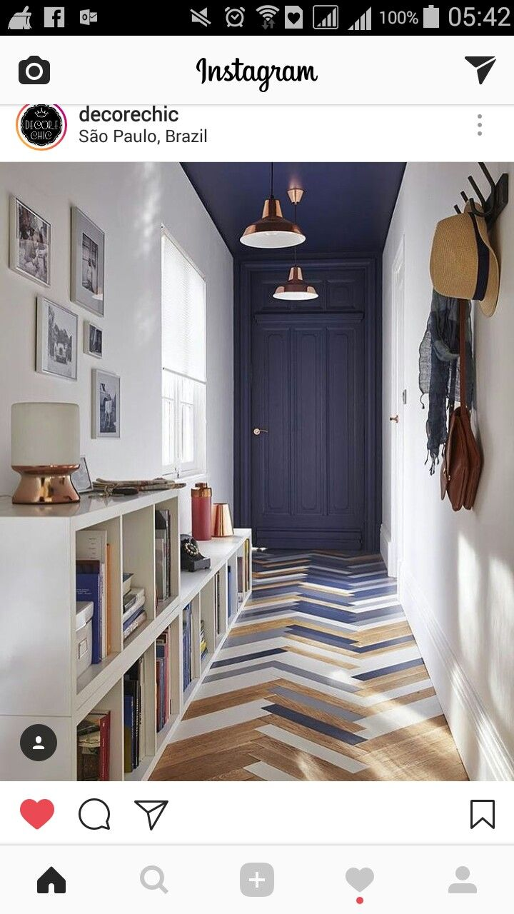 Narrow hallway colours  Pin by BESPOKEN OF STUDIO leanne donnelly on I want a bigger house