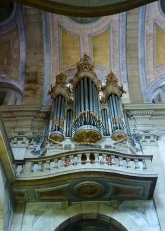 The Church - interior - pipe organ