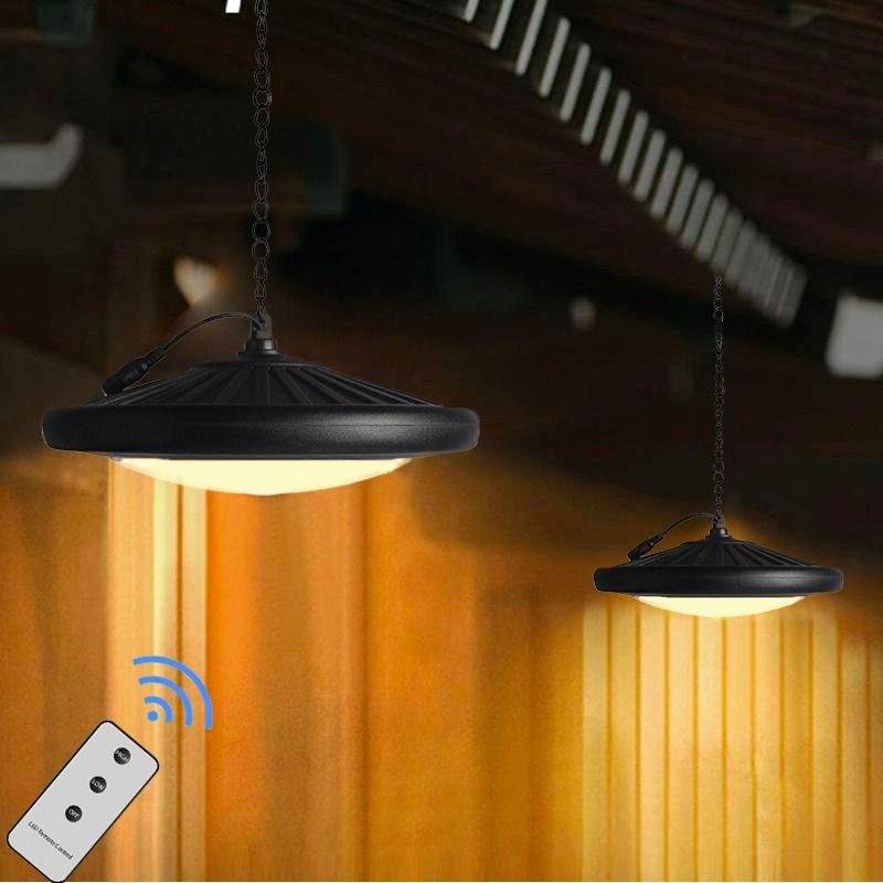 Solar Pendant Shed Light With Remote Control Solar Powered