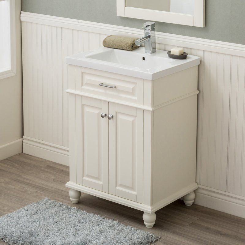 Durrah 24 Single Sink Bathroom Vanity Single Sink Bathroom Vanity Bathroom Sink Vanity Single Bathroom Vanity