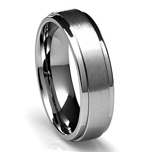 Mens 950 Platinum Wedding Band Ring 6mm Wide Sizes 4 12 Free Engraving New On Etsy 894 73