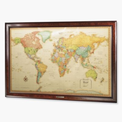 World magnetic travel map you can chart your journeys around the world magnetic travel map you can chart your journeys around the globe and gumiabroncs Image collections