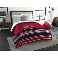 Details About Comforter Twin Full St Louis Cardinals Mlb Red Blue
