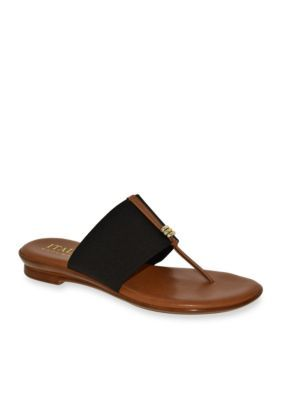 Italian Shoemakers Black Sutton Sandal