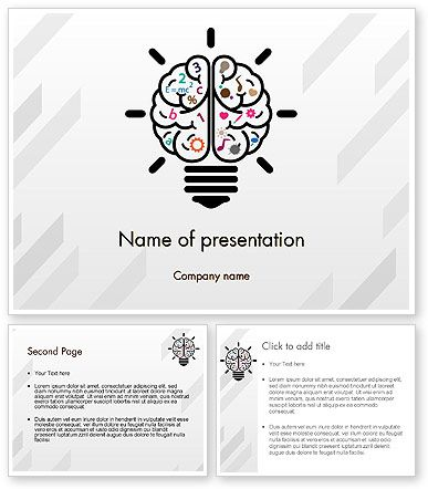 http\/\/wwwpoweredtemplate\/12237\/0\/indexhtml Creative Brain - brain powerpoint template