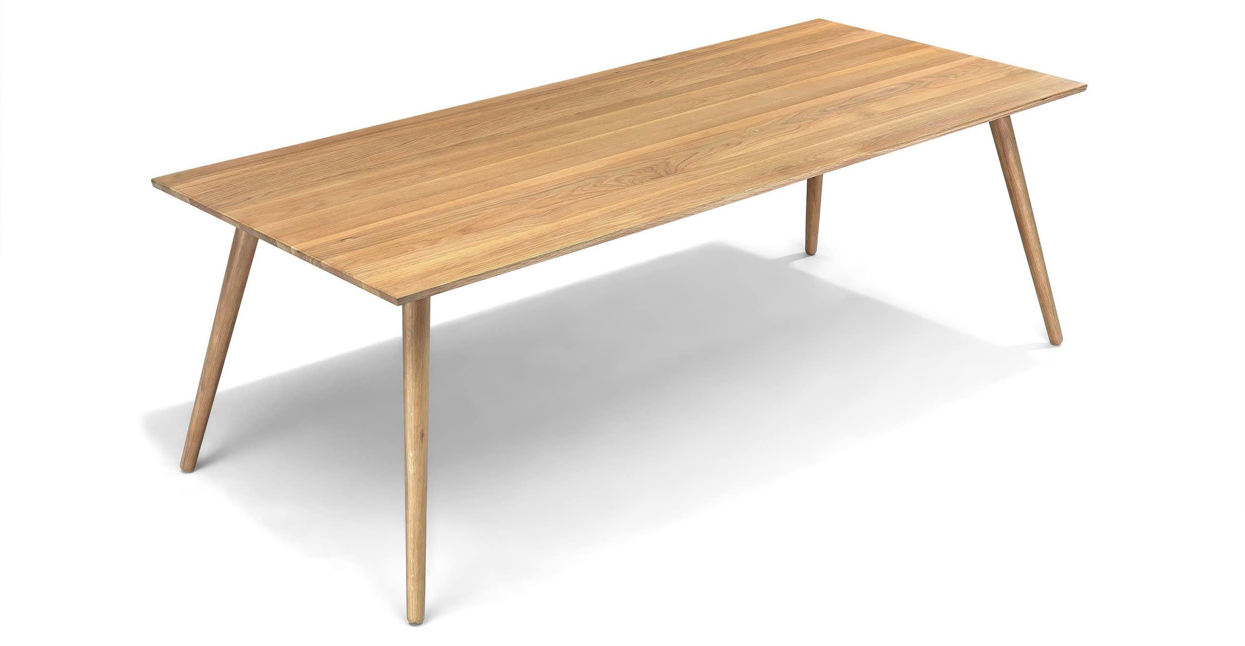 Seno Oak Dining Table For 8
