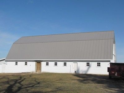 Best Slate Gray Standing Seam Metal Roof For A Barn Metal 400 x 300