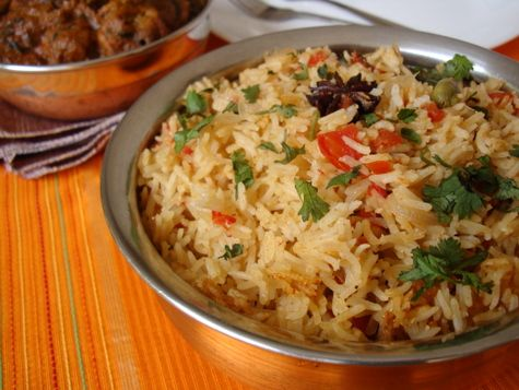 Tomato coconut rice recipe tomato rice rice and coconut forumfinder Image collections