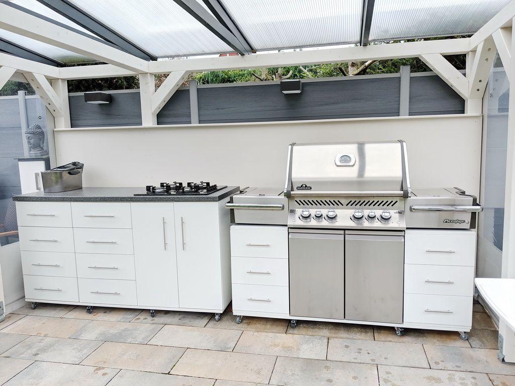 Gartenkuche Hitze Und Brandschutz Garten Kuche Kuche Outdoor Kuche