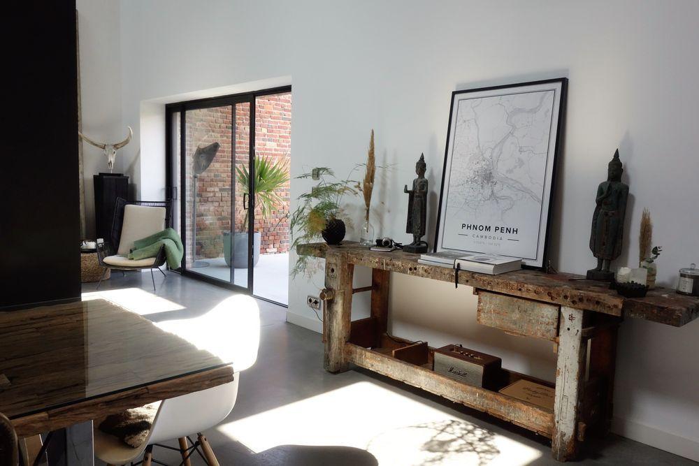 Une Maison Loft Au Design Contemporain Dans Une Ancienne Grange Planete Deco A Homes World Design Contemporain Maison Design