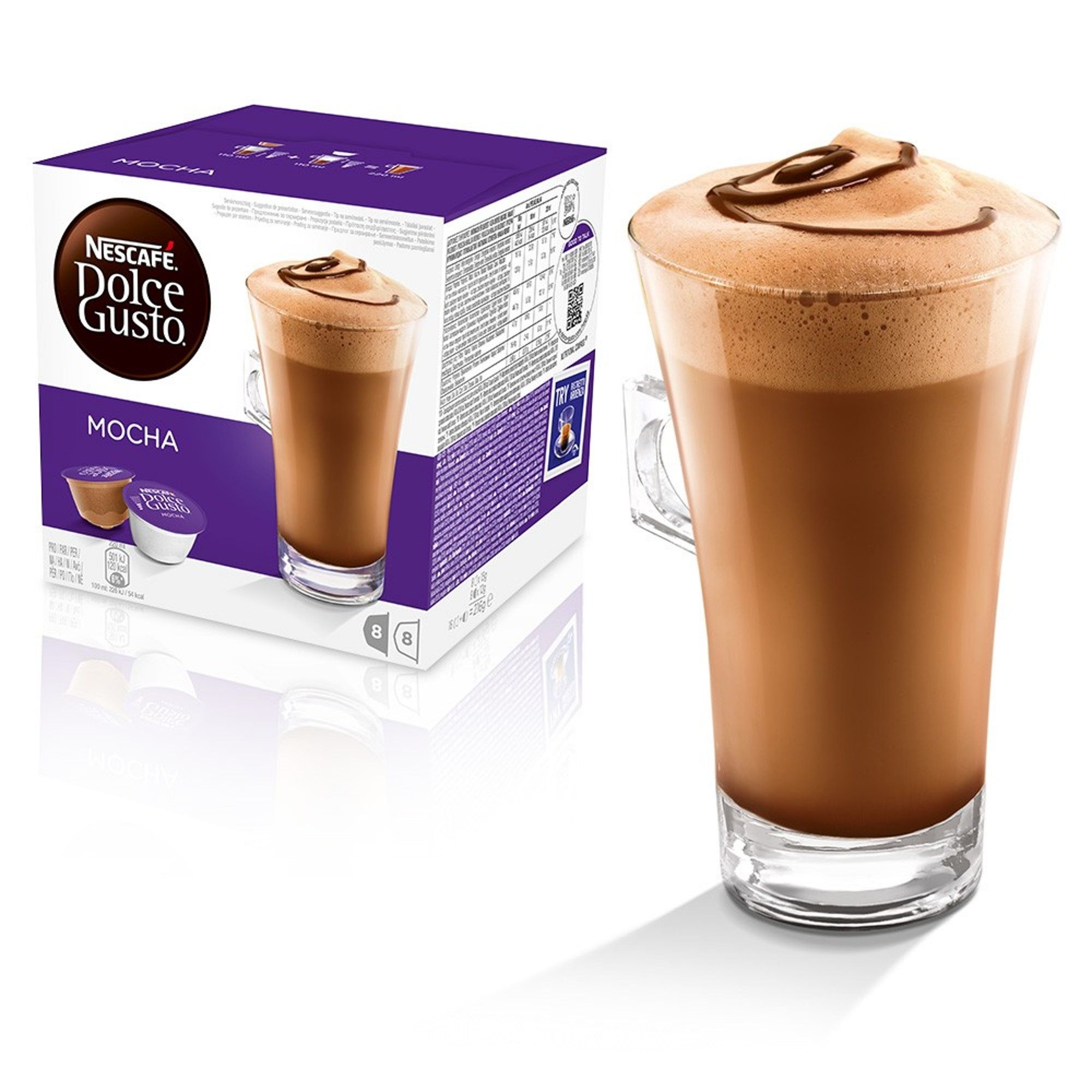 Nescafe Dolce Gusto Mocha Hot Chocolate Coffee Pods In 2019