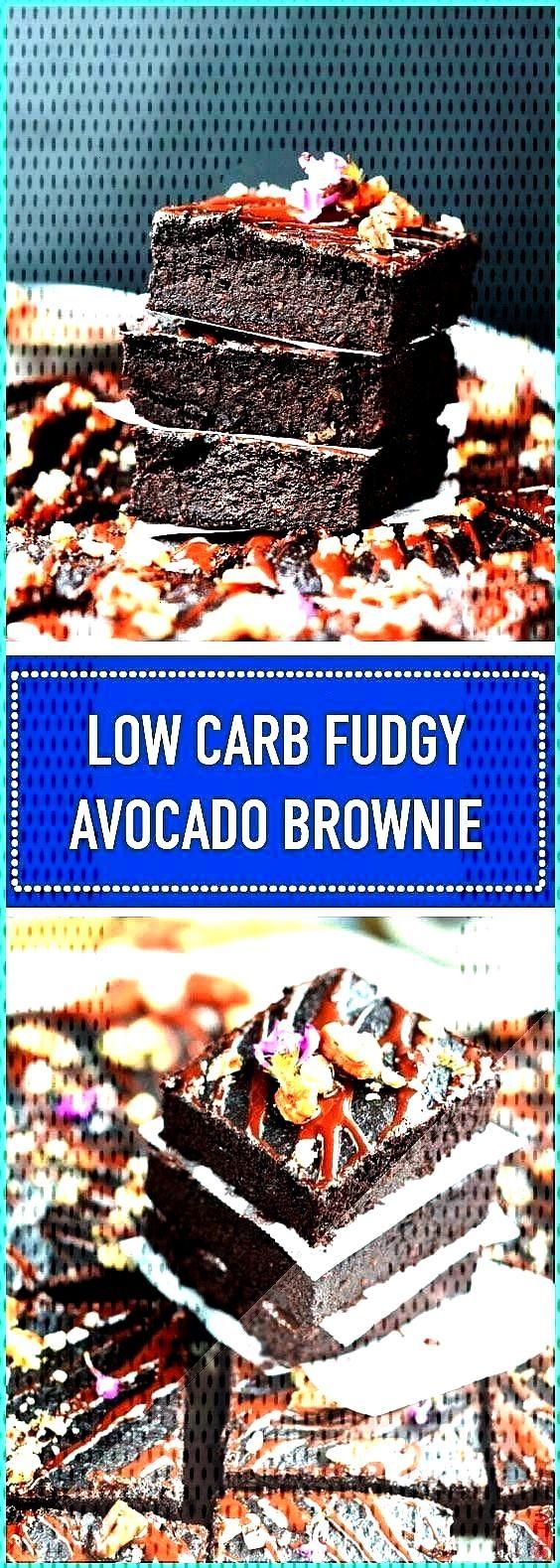 Carb Fudgy Avocado Brownies made of avocado are low carb Fudgy Avocado brownies with only 3 5 gLow