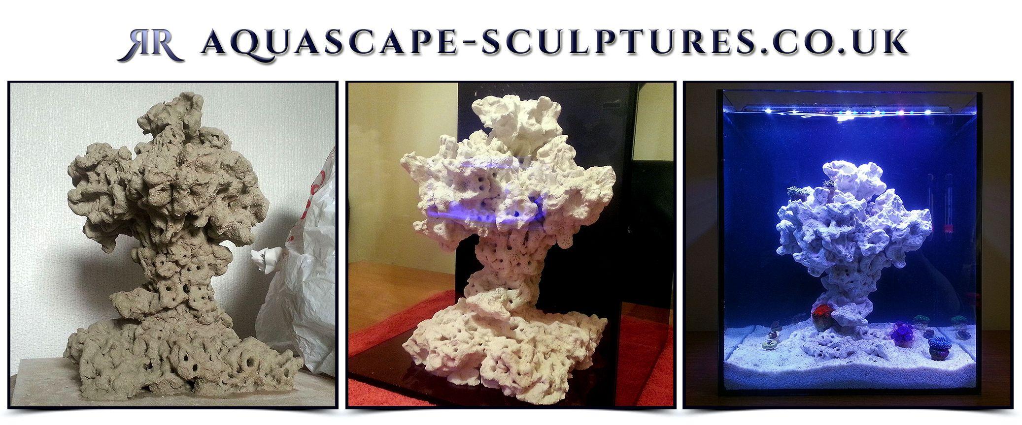 How We Build Reef Tank Ceramic Aquascapes. Www.aquascape Sculptures.co.