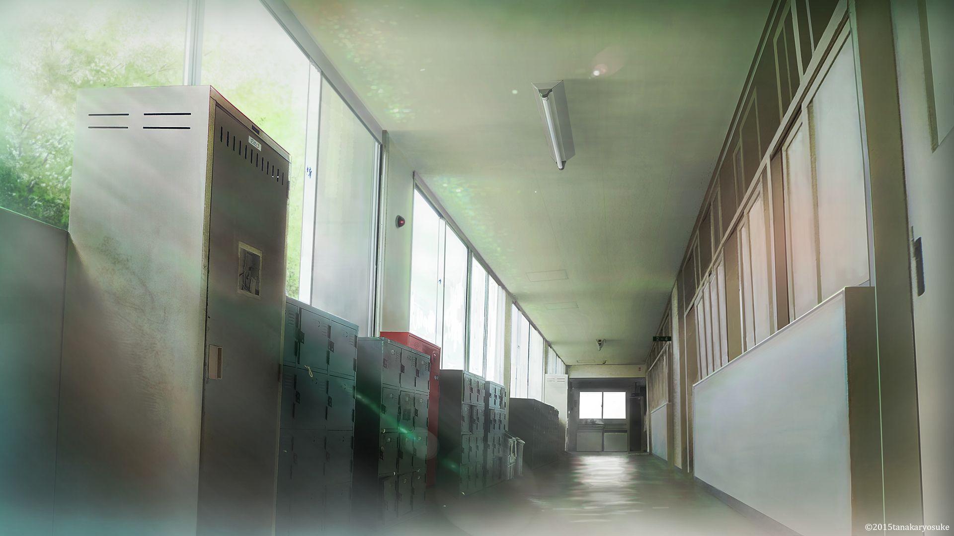 フリー素材 フリー素材 背景 学校階段 1階 2階以上 彩 雅介のマンガ