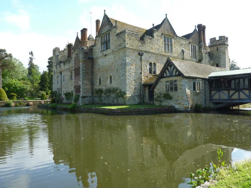Hever Castle, the back view