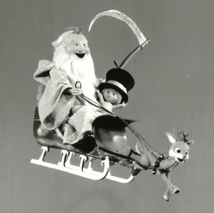 Rankin Bass Christmas cartoons, Baby new year, Vintage