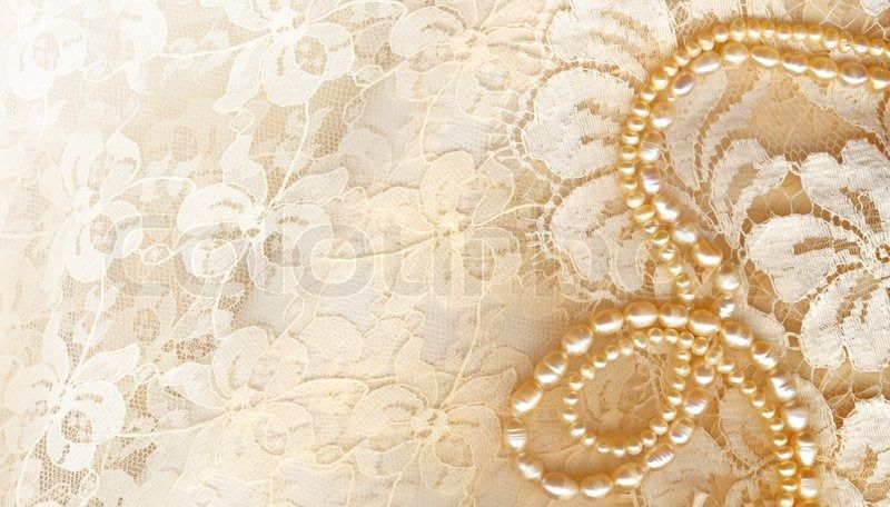 lace pearls pink wallpaper - photo #18