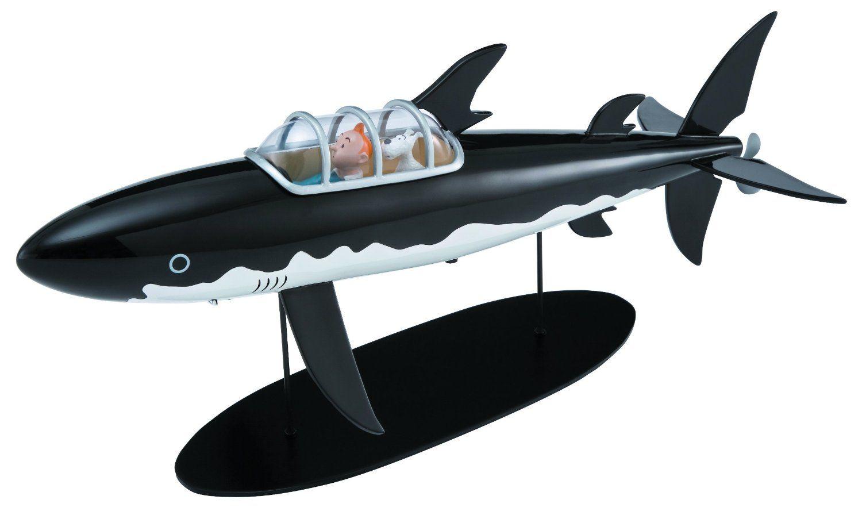 Amazon Com Moulinsart Tintin The Shark Submarine Limited