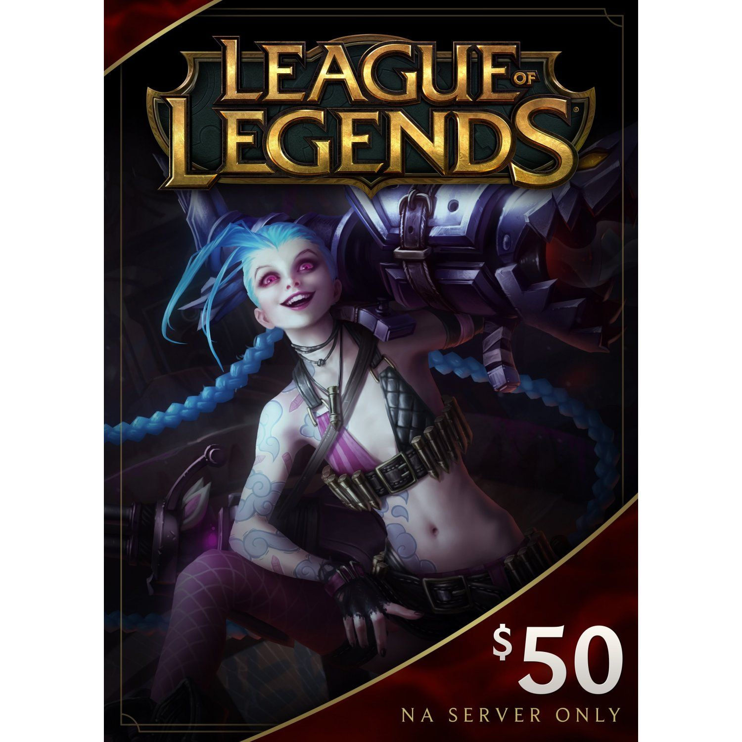 League of legends gift card usd 50 champions league of
