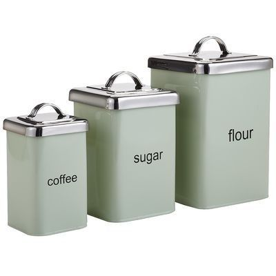 Mint Green Containers Canisters