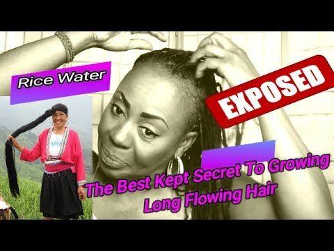 The Best Kept Secret To Growing Long Flowing Hair: EXPOSED!!! - YouTube