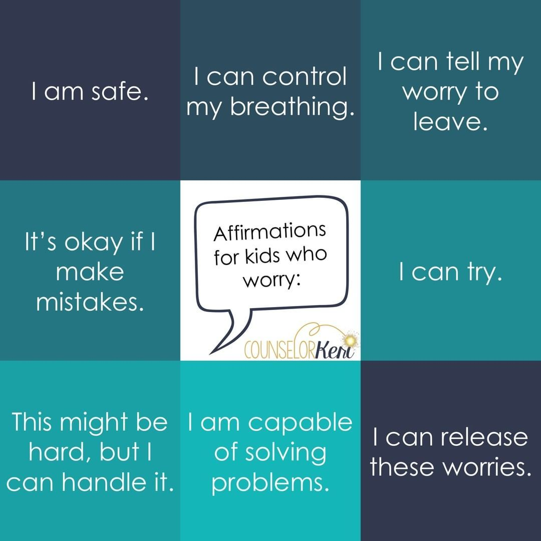 Counselor Keri On Instagram Affirmations For Kids Who