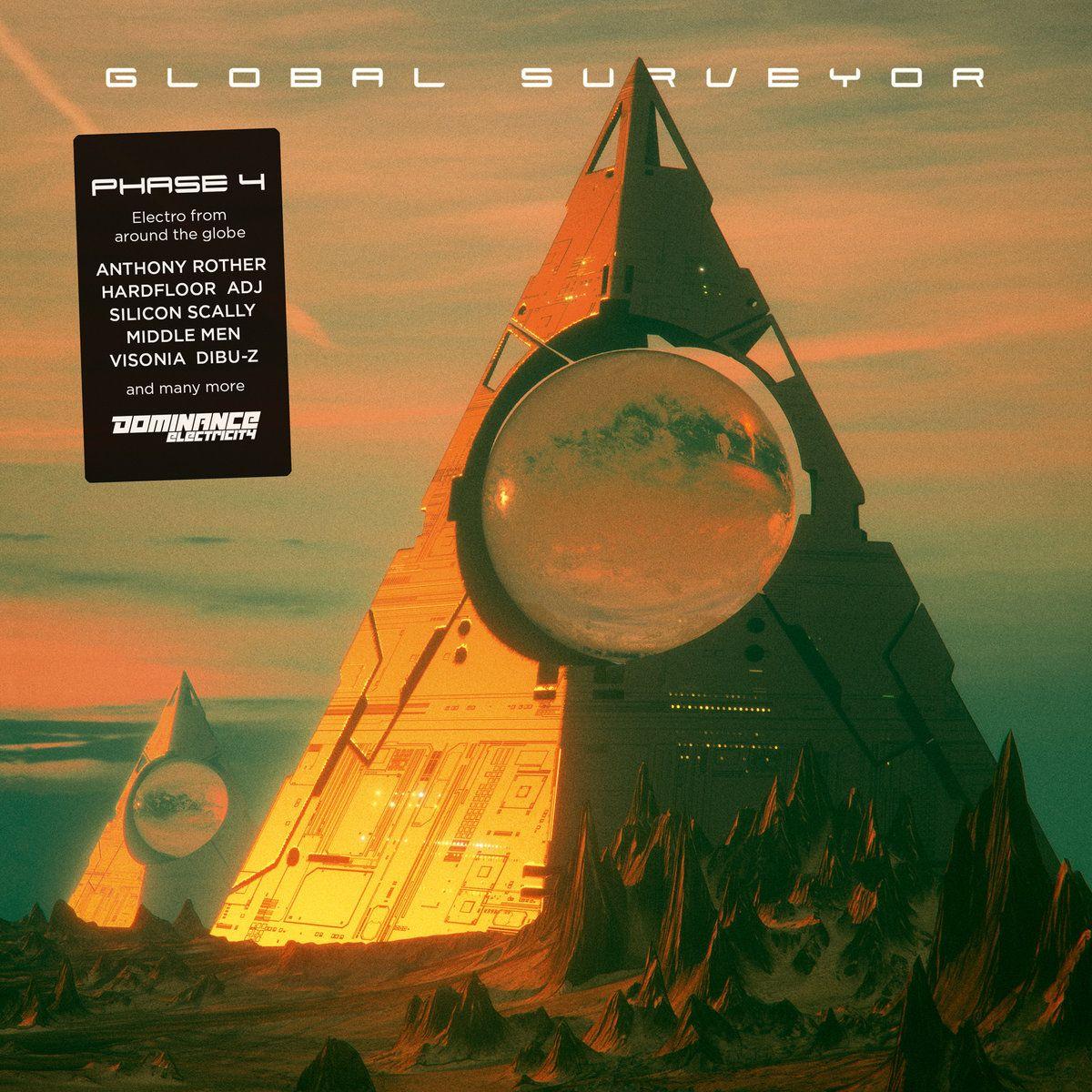 Various Global Surveyor Phase 4 Cool Album Covers Phase 4 Electronic Music