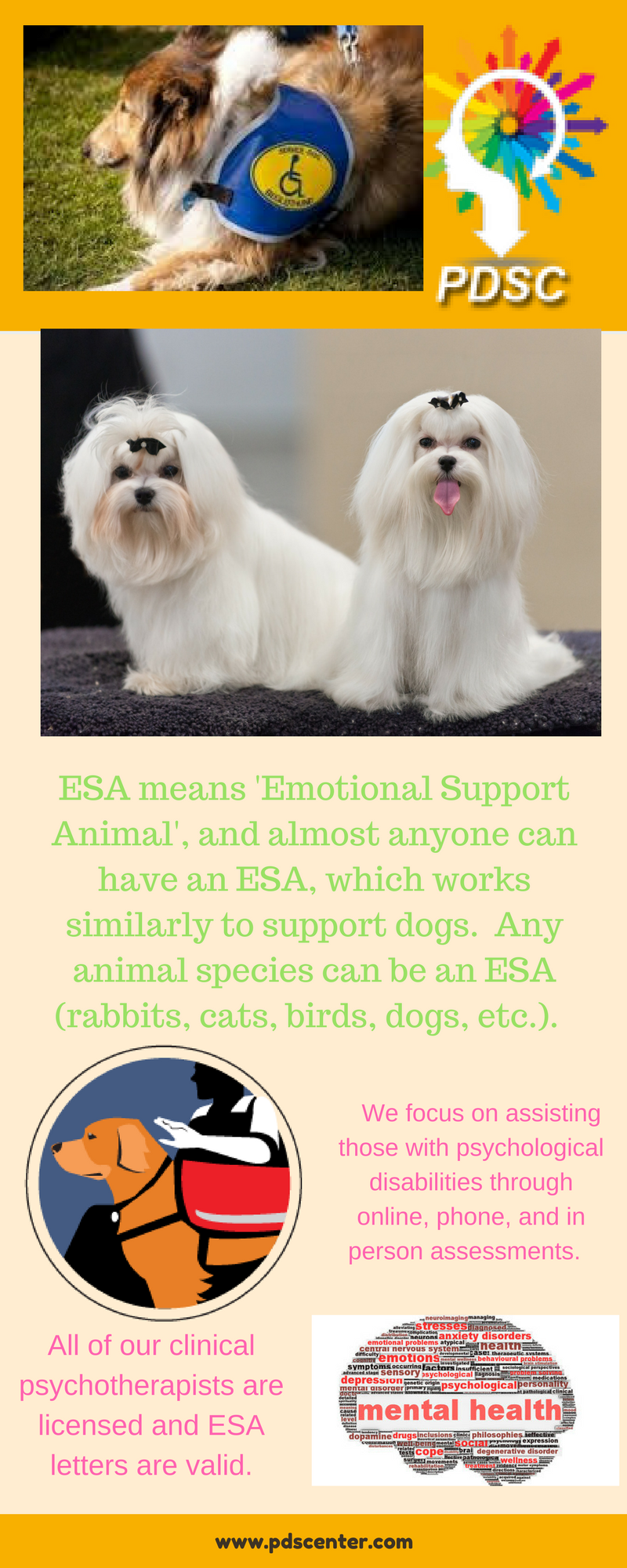 ESA Travel & Housing Letters Emotional support animal