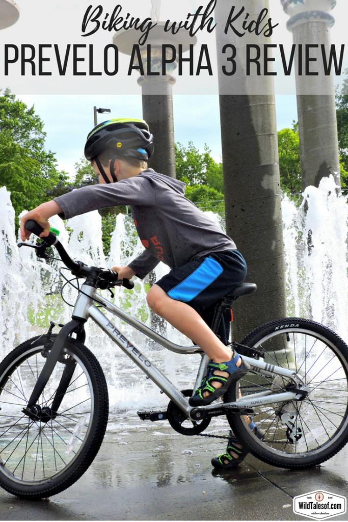Biking With Kids Prevelo Alpha Three Review Best Kids Bike