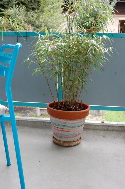 Blumentopf - passend zur Umgebung und Laune.