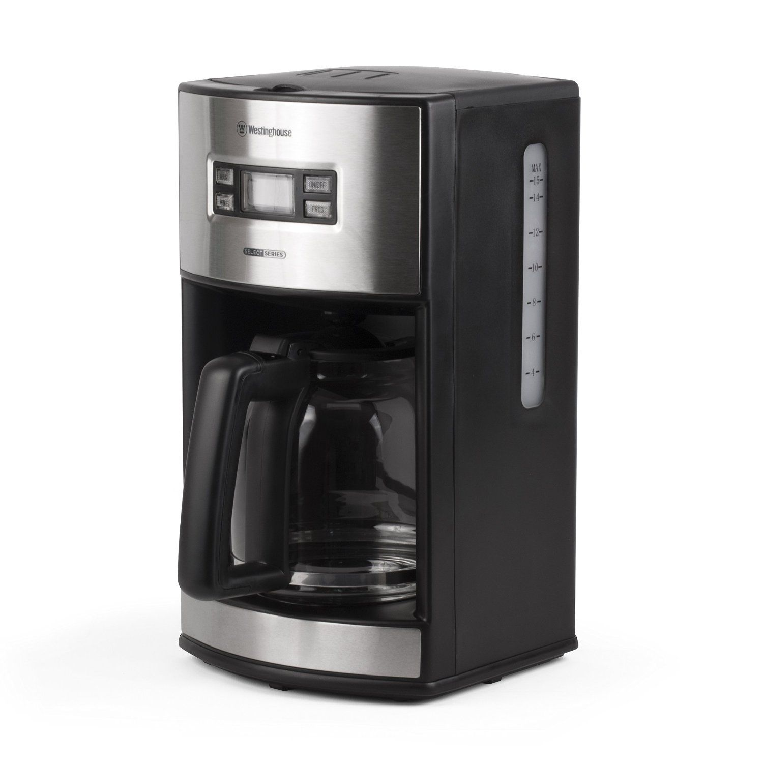 Westinghouse Wcm12bssa Select Series 12 Cup Programmable Coffee Maker Black Amazon Exclusive Don T Ge Best Coffee Maker Coffee Maker Home Coffee Machines