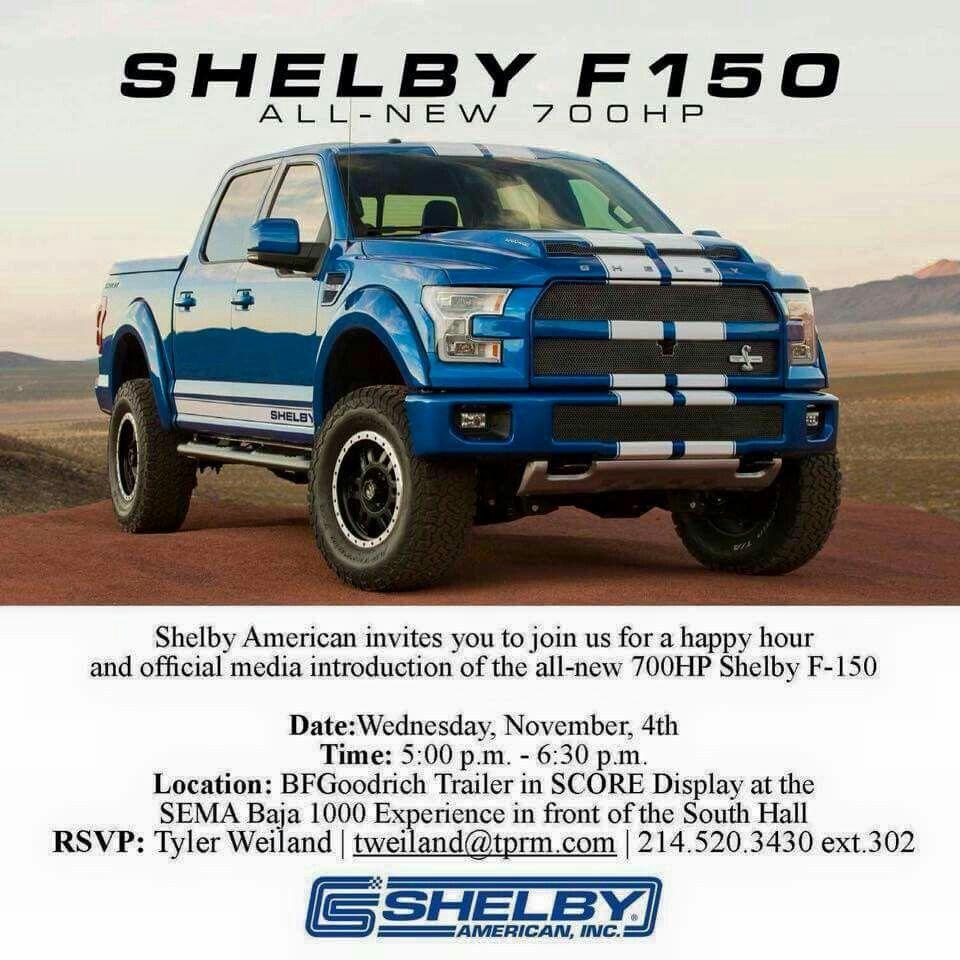 700hp Shelby F 150 Trucks Ford Trucks Shelby F150