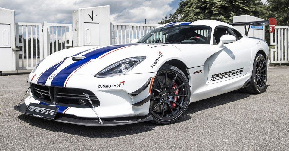 Dodge Viper Acr Gets Body Kit And Power Hike To 765 Hp By