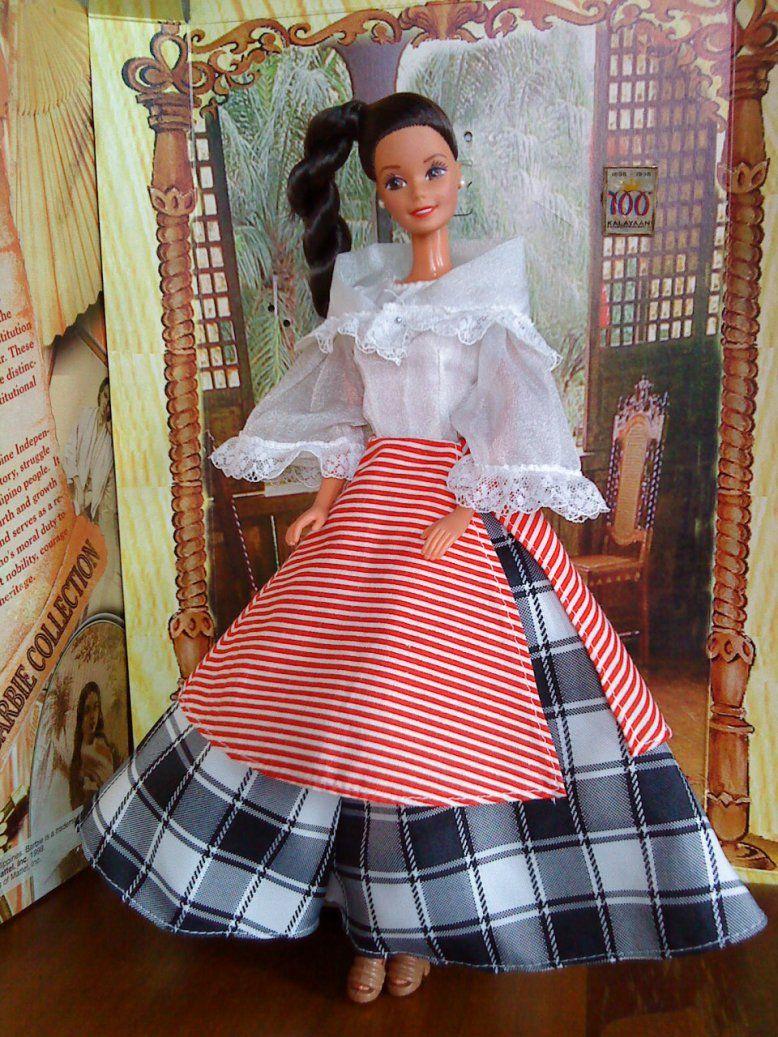 Pin de Rossana Velasco Espiritu en Filipiniana Barbie   Pinterest ...