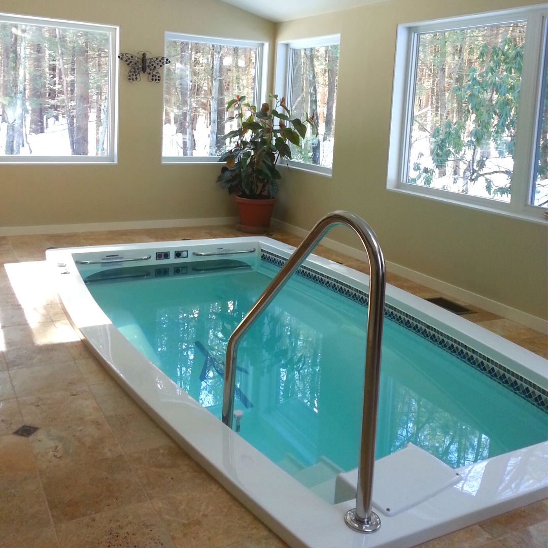 Indoor Lap Pools Swimex Swim Spas Swimex Pools Are Easy To Maintain Economical To Run And Built To Last Wide Water Current For H Swim Spa Small Pools Pool