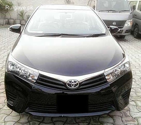 Bank Leased 2016 Brand New Toyota Corolla Gli Automatic