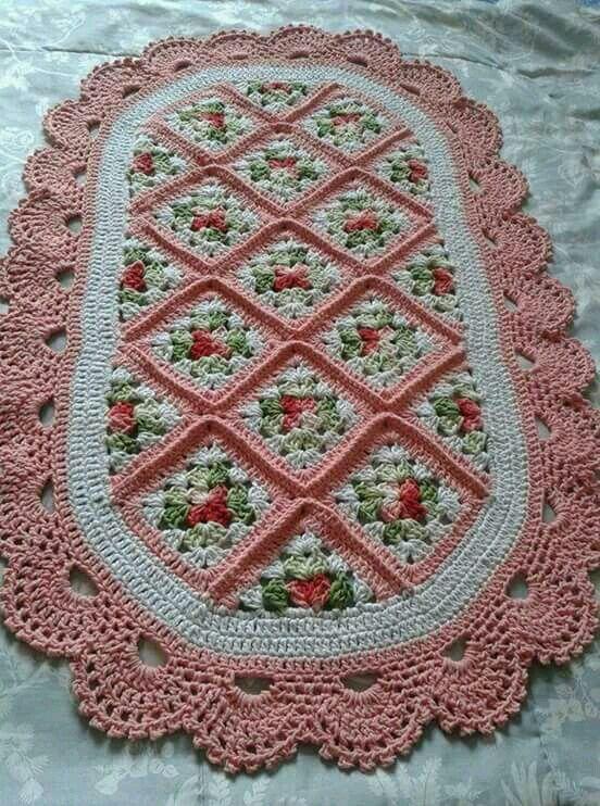 Pin von andrea aparecida auf crochê | Pinterest
