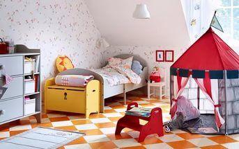 Ikea kids castle tent beboelig pop up childrens room play nip new