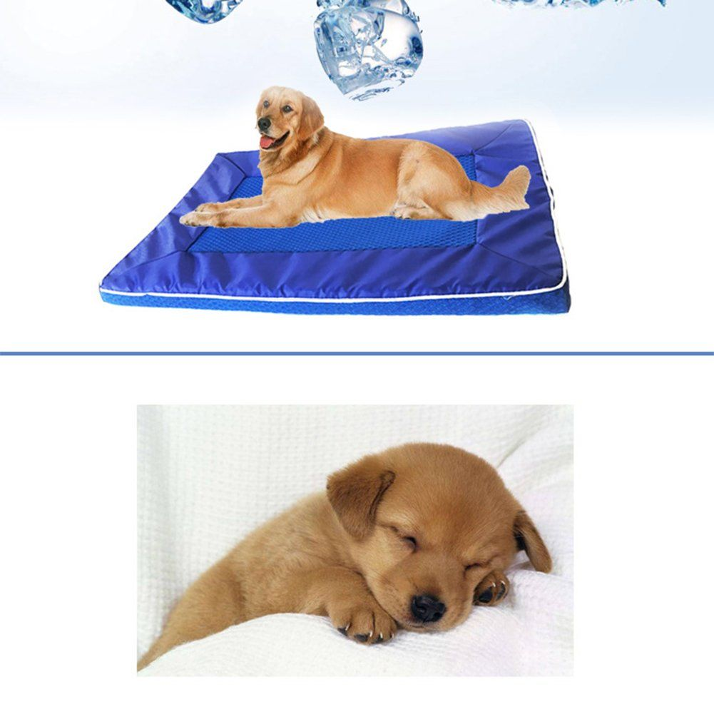 Molie Pet Cooling Mat with Mesh Cooling Pet Bed Sofa Bed