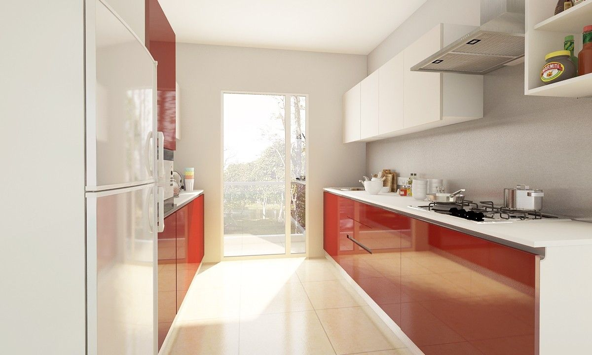 Addison Parallel Kitchen | For the Home | Pinterest | Kitchens and ...