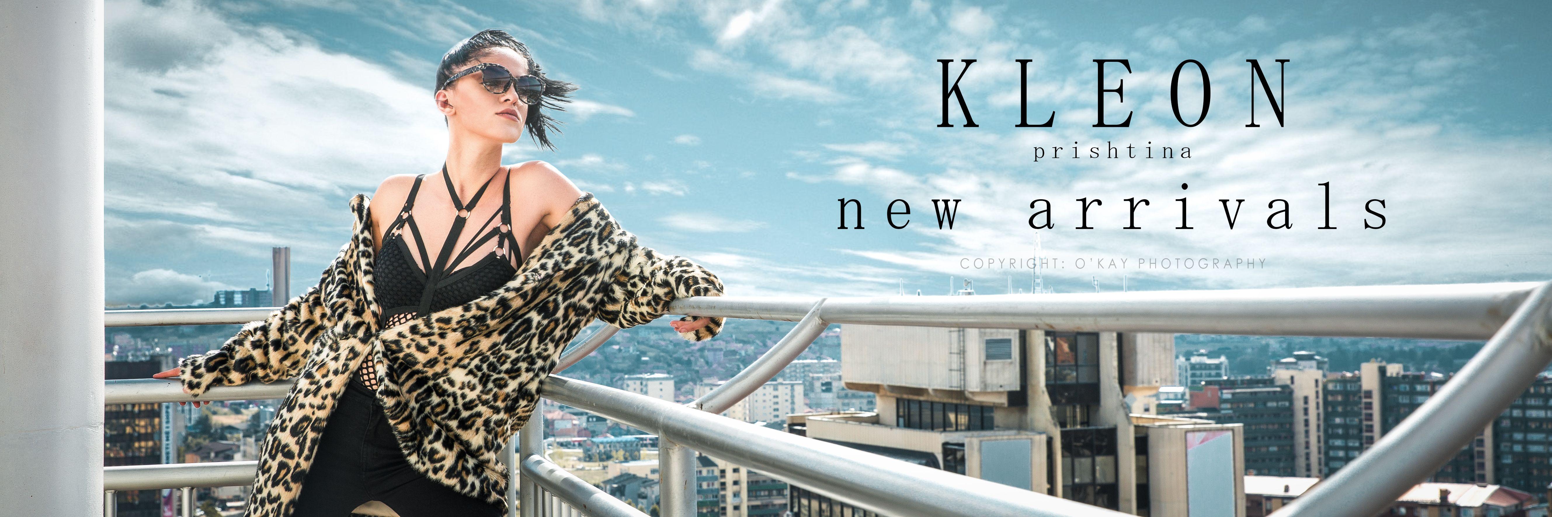 Fashion banner (new arrivals) for KLEON Fashion Prishtina. #fashion ...