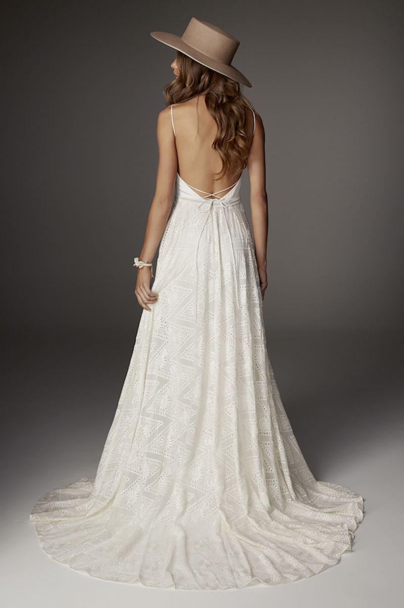 Rue De Seine Haze 20  Kleid mit tiefem rückenausschnitt, Kleid