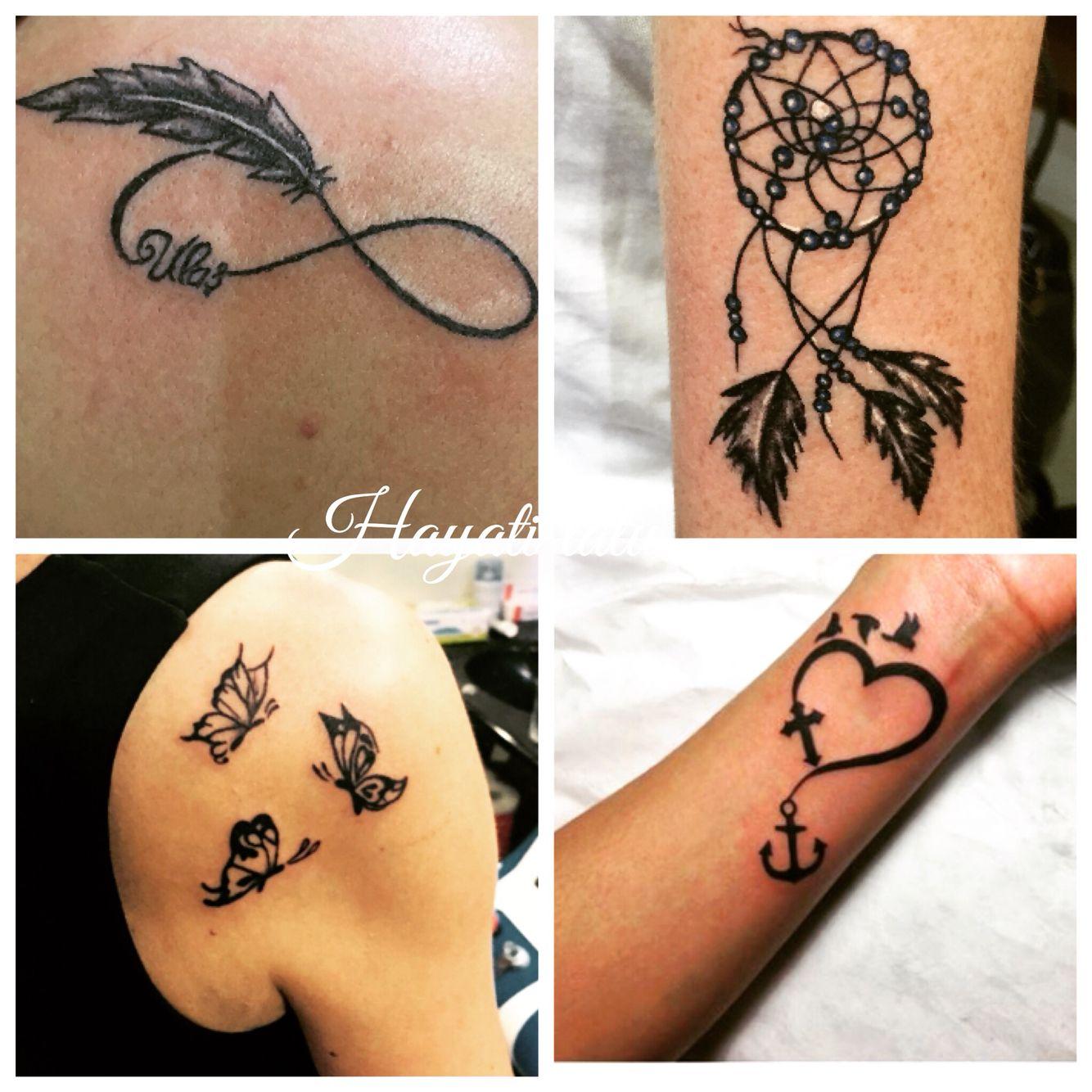 Kız için güzel dövme. Güzel küçük dövmeler: bilekte, parmaklarda, omuzlarda