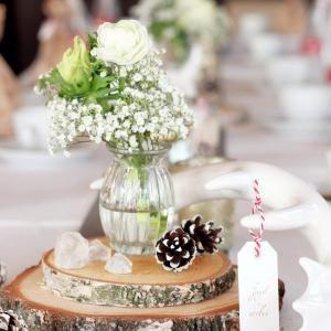 Dekoration Mit Holz Und Blumen ? Patrial.info Tischdekoration Gestalten Im Farmstil