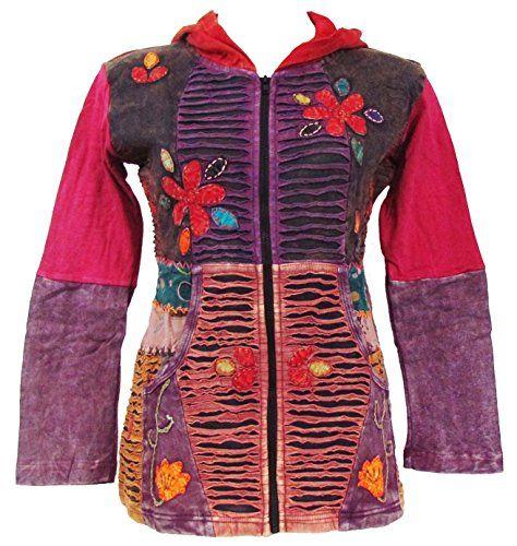 Shangri-La Nook Large Hippie Bohemian Cotton Hoodie / Jacket Handmade in Nepal ShangriLa Nook http://www.amazon.com/dp/B00LGVES3W/ref=cm_sw_r_pi_dp_H5rYub0AE5TN6