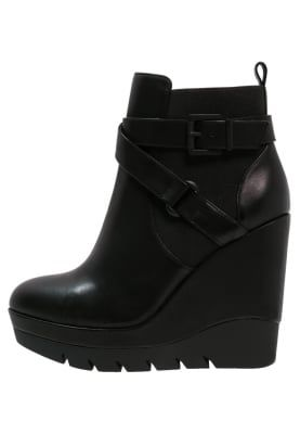 CHEROKEE Enkellaarsjes met plateauzool noir | Laarzen