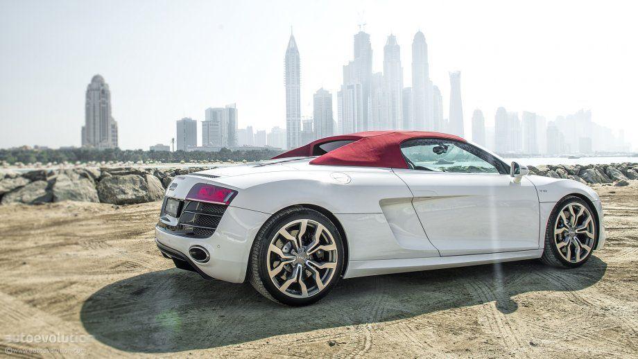 Audi R8 V10 Spyder In Dubai Car Pictures Audi R8 Car Cars