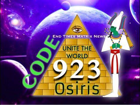 CODE 923 UNITY OF OSIRIS (777 TOGETHER … | 666 False Trinity