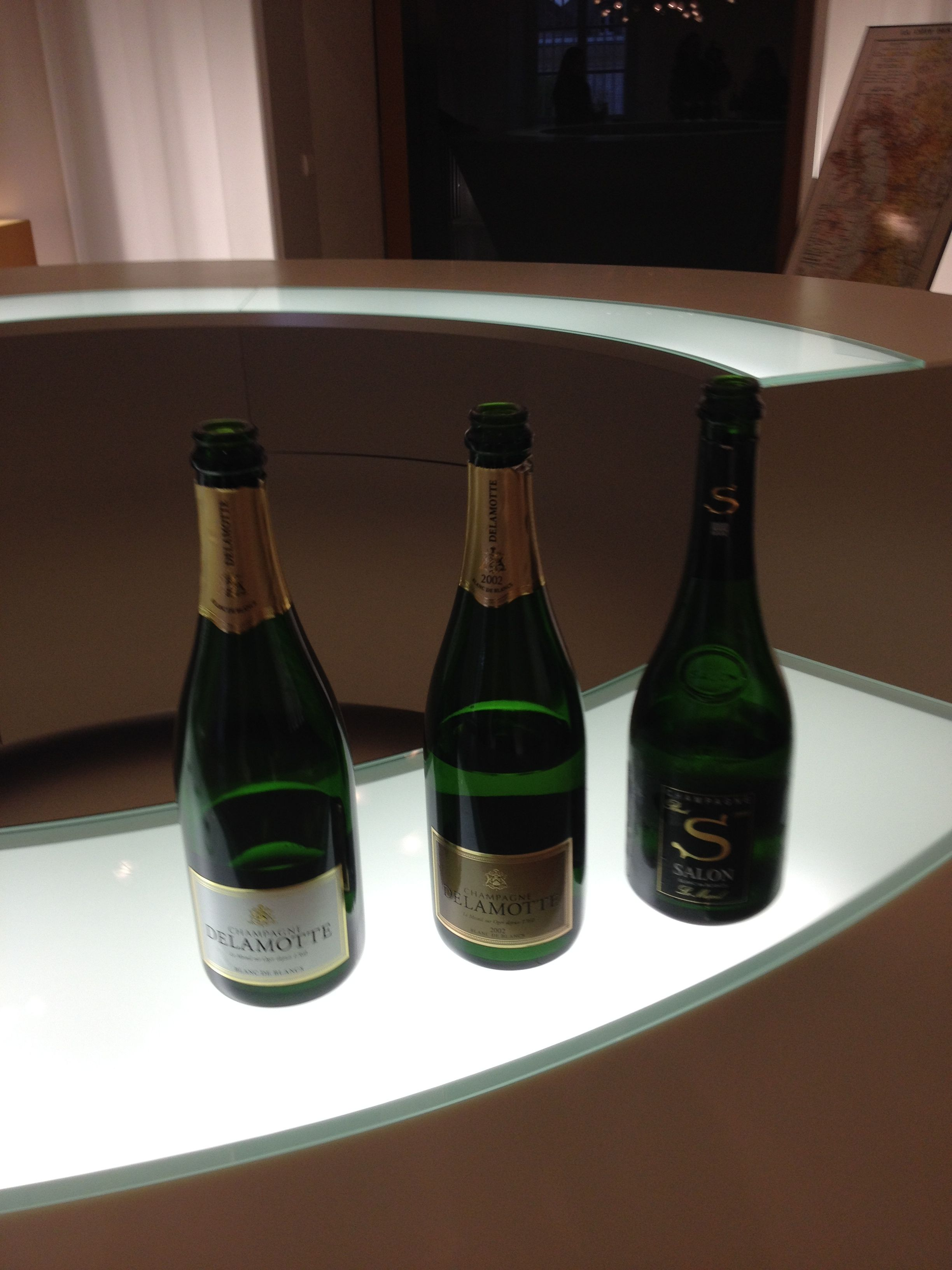 Champagne Delamotte Blanc de blancs Champagne Delamotte Blanc de ...